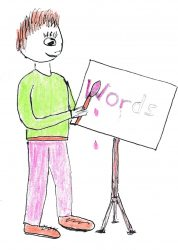 How to paint pictures with words